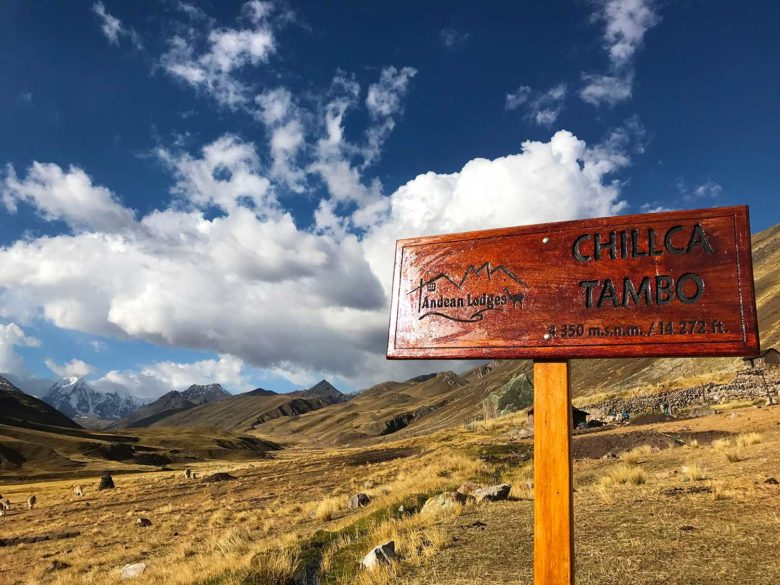 lodge-chillca-tambo-1-780x585 Trilha Ausangate e Vinicunca (dia 1): aclimatação no Peru