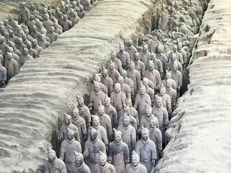 Guerreiros de Terracota em Xian
