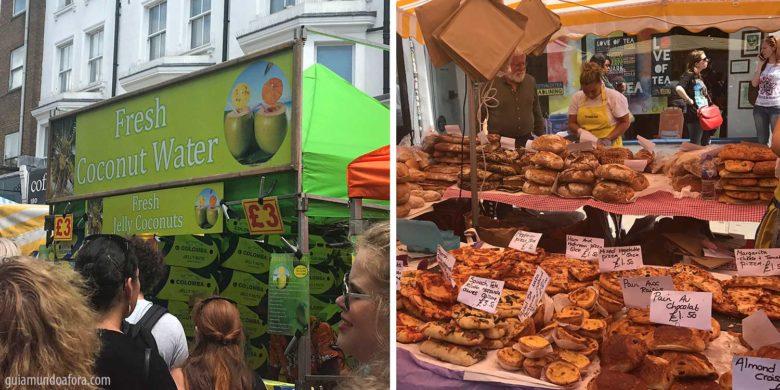 comidas-portobello-market-min-780x390 3 feirinhas em Londres para comer comida de rua