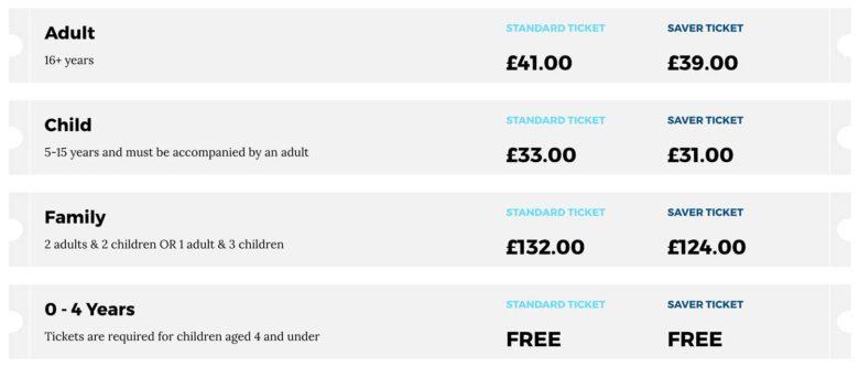 precos-site-min-780x333 Quanto custa e como chegar nos Estúdios do Harry Potter em Londres?