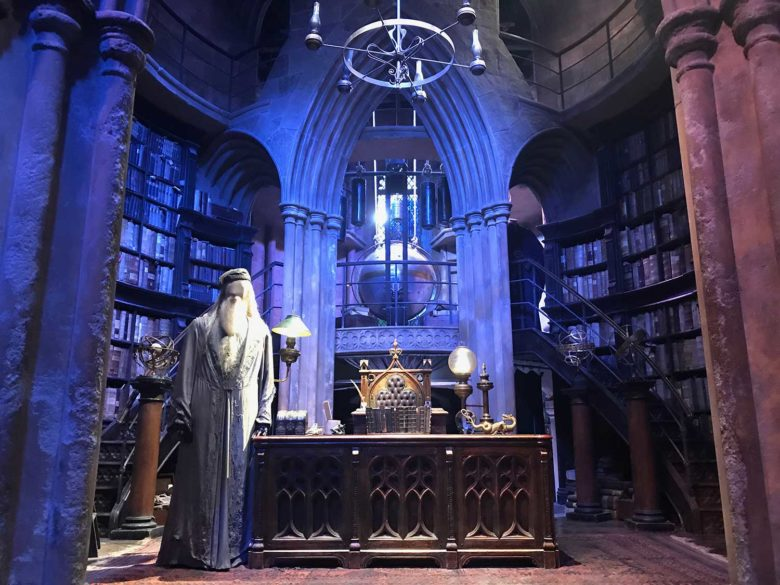 sala-dumbledore-min-780x585 Quanto custa e como chegar nos Estúdios do Harry Potter em Londres?