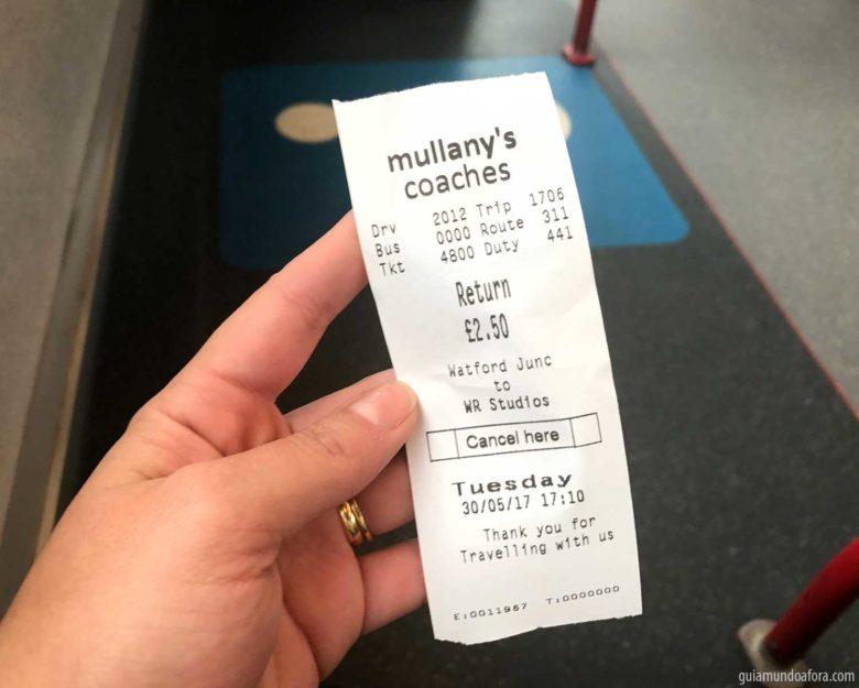 ticket-onibus-harry-potter-min-780x625 Quanto custa e como chegar nos Estúdios do Harry Potter em Londres?