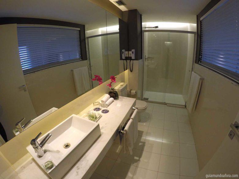 banheiro-radisson-blu-min-780x585 Onde ficar em Belo Horizonte: Radisson Blu Savassi