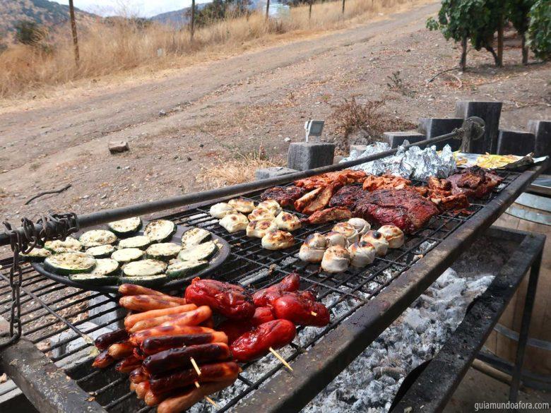 churrasco-el-principal-min-780x585 Tour e almoço romântico na Vinícola El Principal em Santiago