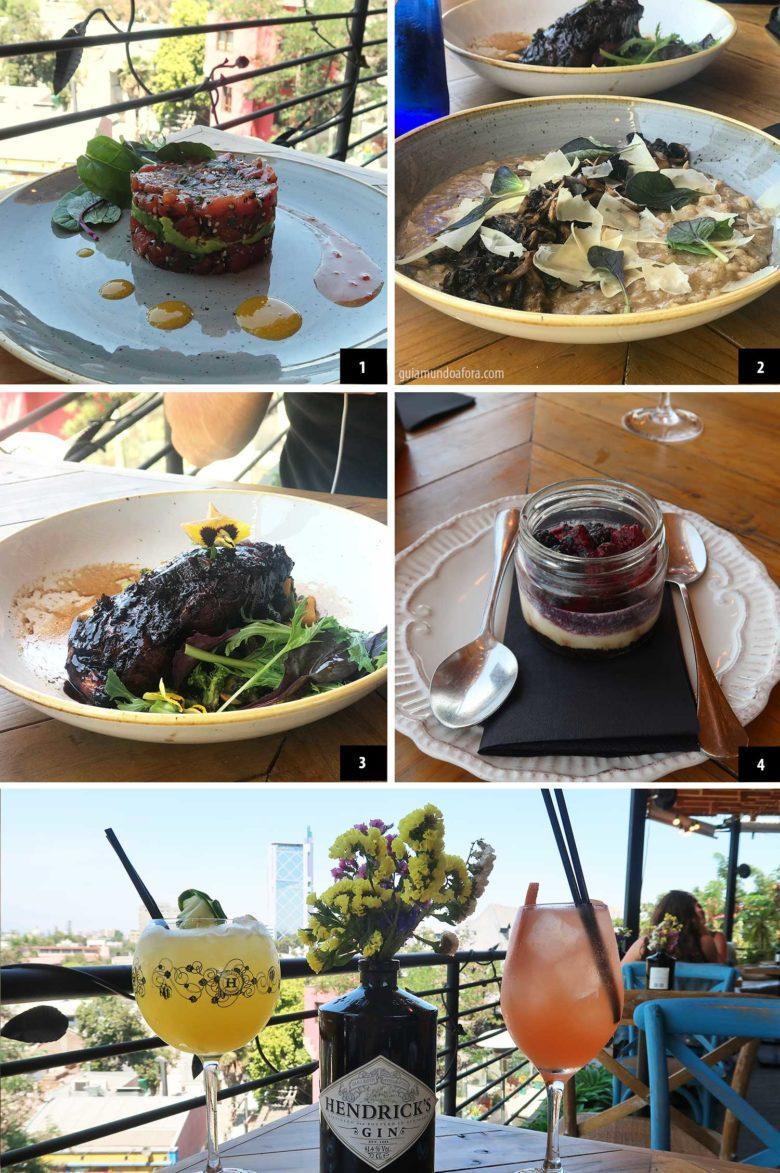 comidas-azotea-matilde-min-780x1173 Onde comer em Santiago: Top 3 restaurantes deliciosos!