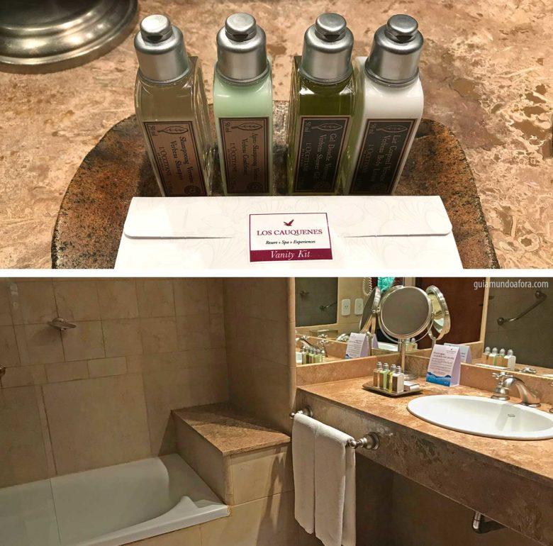 banheiro-los-cauquenes-min-780x770 Hotel em Ushuaia Los Cauquenes - aconchego no fim do mundo