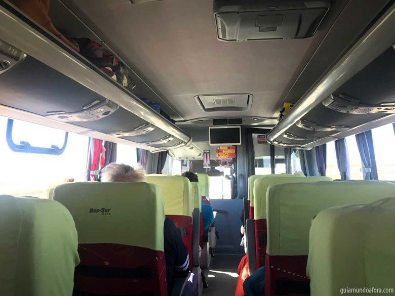bus-sur-interior-onibus-min-780x585 Como ir de ônibus para Ushuaia saindo de Punta Arenas