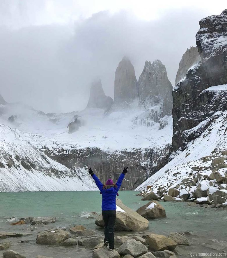 neve-torres-del-paine-min-780x884 Dicas de Torres del Paine: entenda como programar sua viagem