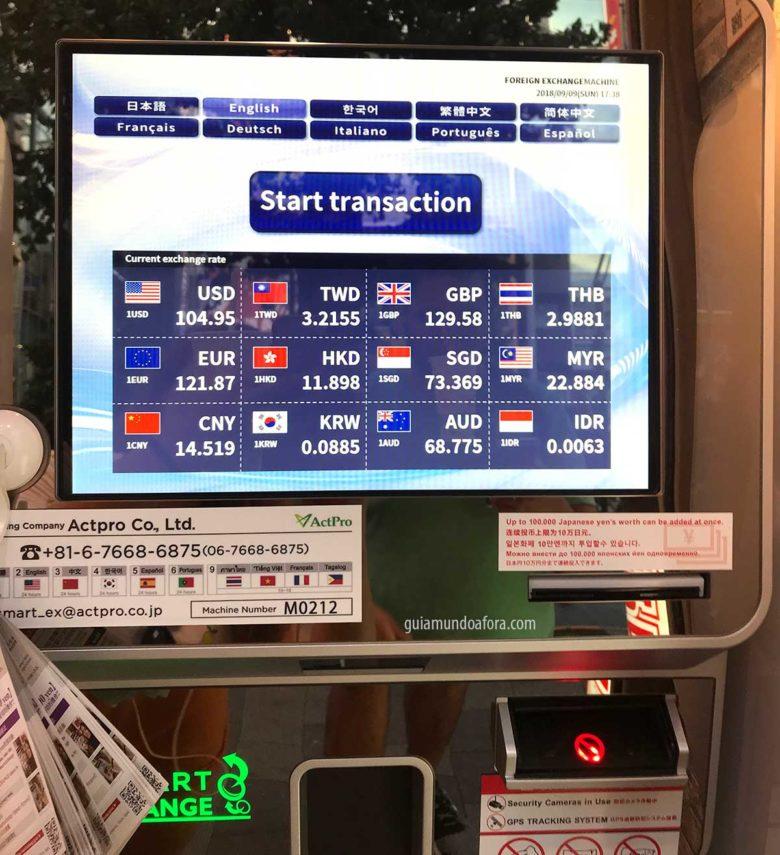 cotacao-yen-maquina-min-780x855 Moeda do Japão: qual moeda levar e como funciona o dinheiro?