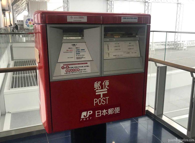 Caixa de correios no Japão
