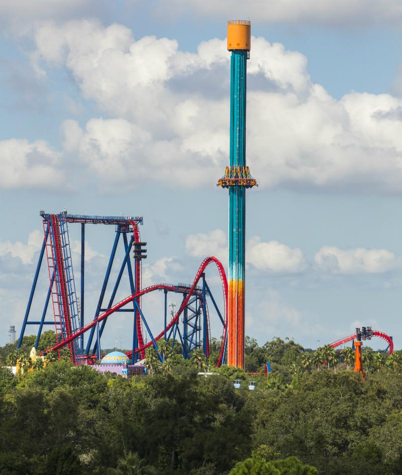 Busch-gardens-tampa-elevador Busch Gardens Tampa: atrações, ingressos e dicas!
